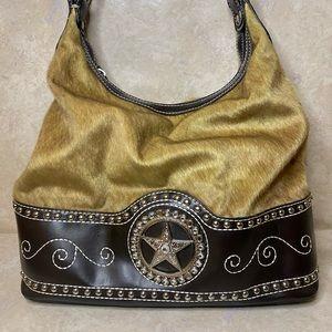 BLAZIN ROXX Western Star Hair on Bag